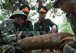 Hủy nổ thành công quả bom nặng 250 kg