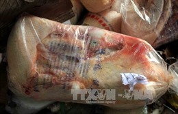 Thu giữ hơn 1.200 kg thịt gia cầm không rõ nguồn gốc