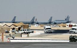 Giữa 'tâm bão' vùng Vịnh, máy bay quân sự Mỹ ở Qatar vẫn cất cánh