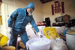 Triệt phá cơ sở sản xuất ma túy núp bóng trang trại gà
