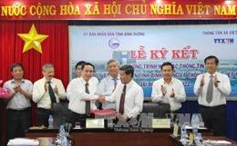 Đẩy mạnh hợp tác thông tin giữa TTXVN và UBND tỉnh Bình Dương