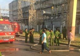 Khẩn trương khắc phục hậu quả vụ cháy tại Công ty Cổ phần Nhiệt điện Phả Lại