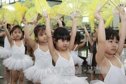 Nở rộ các lớp năng khiếu, kỹ năng sống cho trẻ dịp hè