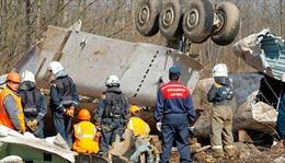 Phát hiện mới về vụ tai nạn máy bay chở cố Tổng thống Ba Lan Kaczyński