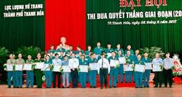 Đại hội thi đua Quyết thắng Lực lượng vũ trang Thành phố Thanh Hóa