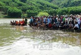 Quảng Ngãi: Nỗ lực tìm kiếm hai nạn nhân mất tích khi tắm suối