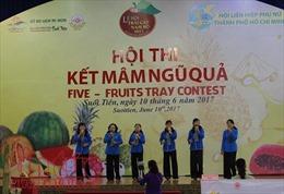 Tôn vinh đặc sản Nam bộ qua hội thi kết mâm ngũ quả