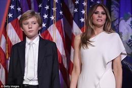 Đệ nhất Phu nhân Mỹ và con trai sẽ chuyển vào Nhà Trắng trong tuần này