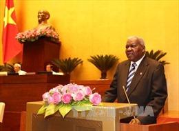 Chủ tịch Quốc hội Cuba phát biểu trước Quốc hội Việt Nam