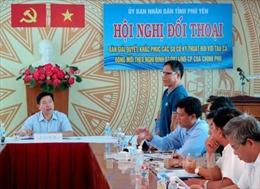 Phú Yên đối thoại khắc phục sự cố tàu vỏ thép