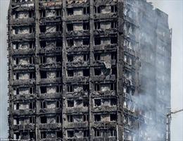 'Không bình chữa cháy, không chuông báo động' trong cao ốc 27 tầng bị cháy