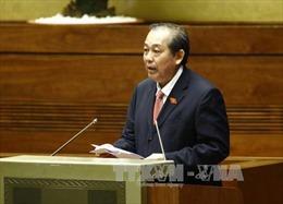 Phó Thủ tướng Trương Hòa Bình: Không dùng ngân sách trả nợ 12 dự án đầu tư kém hiệu quả
