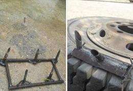 Lại phát hiện rải đinh tới 5cm trên cầu vượt biển Đình Vũ  - Cát Hải