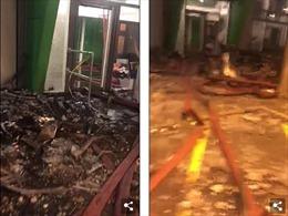Hình ảnh đổ nát bên trong chung cư 27 tầng bị cháy ở London
