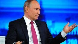 Tổng thống Putin so sánh cựu Giám đốc FBI Comey với Snowden, mời sang Nga tị nạn
