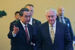 """Ngoại trưởng Mỹ cảnh cáo """"nguy cơ xung đột' với Trung Quốc"""