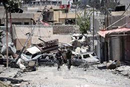 Quân đội Iraq giành lại cửa khẩu chiến lược từ tay IS