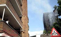 Dân chung cư London lo ngay ngáy sau vụ cháy Grenfell Tower