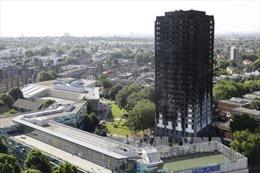 Anh công bố chi tiết hỗ trợ nạn nhân cháy chung cư 27 tầng