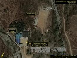 Mỹ phát hiện hoạt động tại bãi thử hạt nhân của Triều Tiên