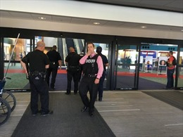 Cảnh sát bị đâm trọng thương, Mỹ sơ tán sân bay quốc tế Bishop