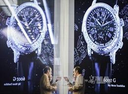 Xuất khẩu đồng hồ Thụy Sỹ giảm mạnh nhất trong 80 năm qua