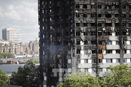 Hé lộ nguyên nhân ban đầu vụ cháy chung cư ở Anh