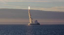 Tàu ngầm Nga phóng thử thành công tên lửa đạn đạo liên lục địa