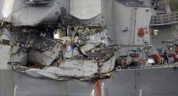 Lời khai chấn động của thuyền trưởng tàu hàng ACX Crystal về vụ đâm tàu khu trục Mỹ