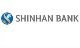 Thông báo việc sửa đổi, bổ sung giấy phép của Ngân hàng TNHH MTV Shinhan Việt Nam