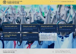 Hà Nội: Không nghẽn mạng khi tuyển sinh trực tuyến đầu cấp