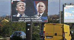 Nhà Trắng xác nhận Tổng thống Mỹ sẽ gặp Tổng thống Nga lần đầu tiên