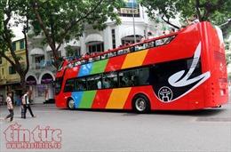 Khai trương xe buýt 2 tầng City Tour đầu tiên ở Hà Nội