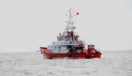 Cứu nạn khẩn cấp thuyền viên tàu cá bị tai nạn lao động trên biển