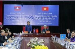 Chủ tịch Quốc hội Lào Pany Yathotou gặp mặt lưu học sinh Lào tại Sơn La