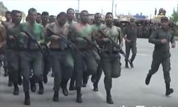 Xem cảnh sát chống khủng bố Syria tập luyện chương trình đặc biệt