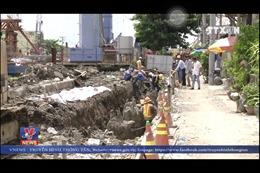 Đảm bảo an toàn cho nhà dân ven công trình chống ngập