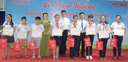 Vedan Việt Nam khen thưởng 700 con em công nhân viên học tập xuất sắc