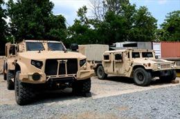 Mỹ cung cấp hàng nghìn xe quân sự thế hệ mới cho Anh