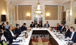 Thủ tướng Nguyễn Xuân Phúc gặp mặt các nhà đầu tư Hà Lan