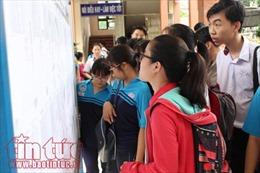 Một số trường đại học ở TP Hồ Chí Minh công bố mức điểm nhận hồ sơ xét tuyển