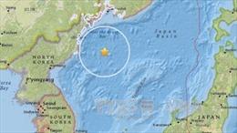 Động đất lớn bất thường ngoài khơi Triều Tiên