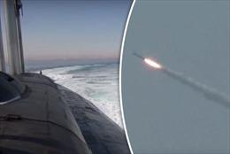 Tên lửa hành trình siêu thanh phóng bật ra từ tàu ngầm hạt nhân Nga