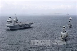Iran và Nga tập trận hải quân trên biển Caspi