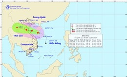 Sáng mai (17/7), bão đổ bộ từ Thanh Hóa đến Hà Tĩnh, gió giật cấp 12
