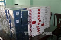 Đội quản lý thị trường Bình Thuận bắt giữ 3.800 gói thuốc lá nhập lậu
