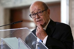 Ngoại trưởng Pháp đến Saudi Arabia giúp giải quyết khủng hoảng vùng Vịnh