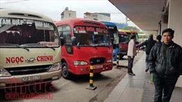 Lái xe khách tuyến Ninh Bình - Giáp Bát chấm dứt 3 ngày đình công