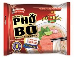 Acecook Việt Nam giới thiệu Phở Đệ Nhất hương vị Bò & Gà