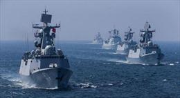 Hải quân 3 nước châu Âu 'ra mặt' hộ tống chiến hạm Trung Quốc